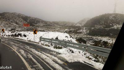037 Passhöhe mit Schnee
